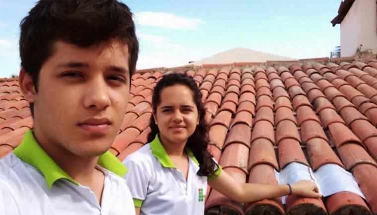 Estudantes utilizam caixas de leite para economizar energia nas residências da região