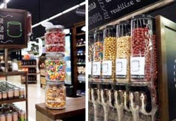 São mais de 40 tipos de produtos oferecidos sem embalagens nas gôndolas – entre grãos, sementes, cereais, chocolates, chás e frutas desidratadas