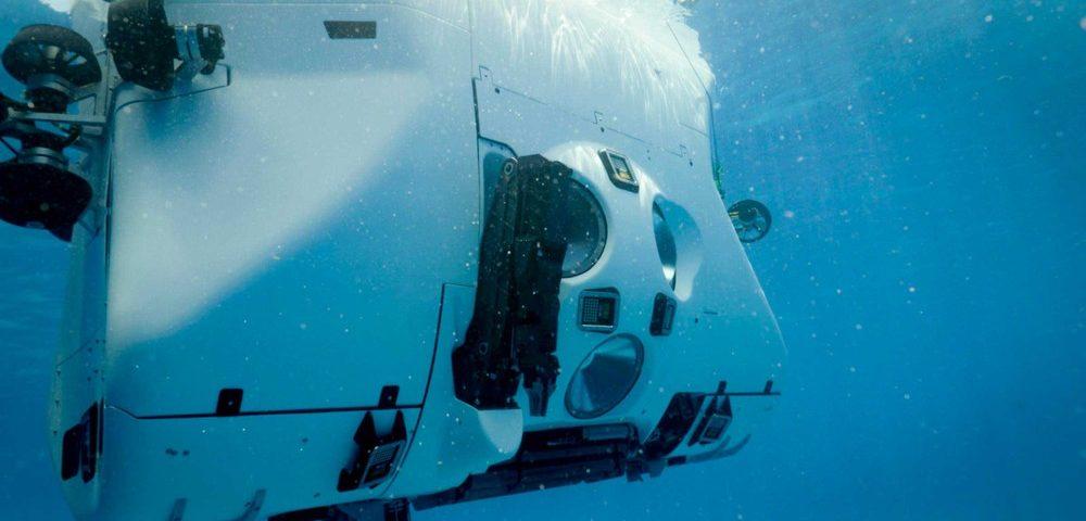 Submarino encontra plástico no ponto mais profundo do oceano